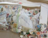 Lot Pound Bag of Stamps Domestic Foreign Events Military Space Flight Hundreds