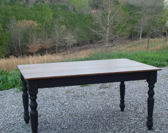 Kitchen Table, Small Kitchen Table, Rustic Dining Table