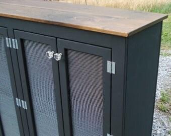Black Sideboards, Kitchen Pantry Ideas, Custom Sideboards