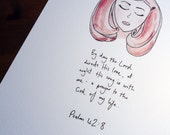 8 x 10 Print - Prayer Girl