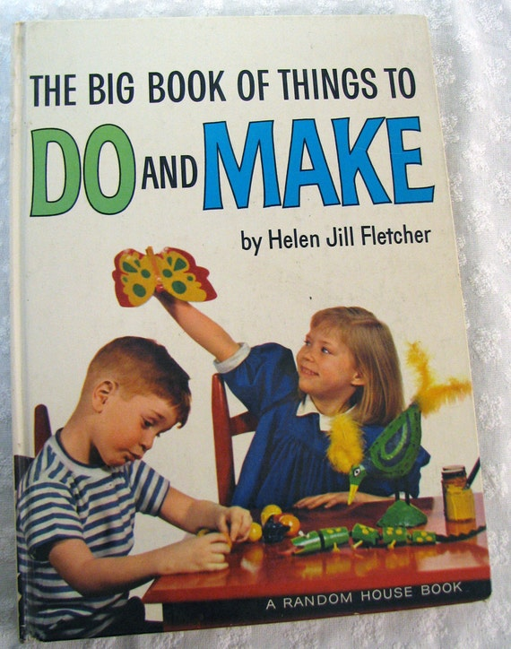 Kids Activities Book Vintage
