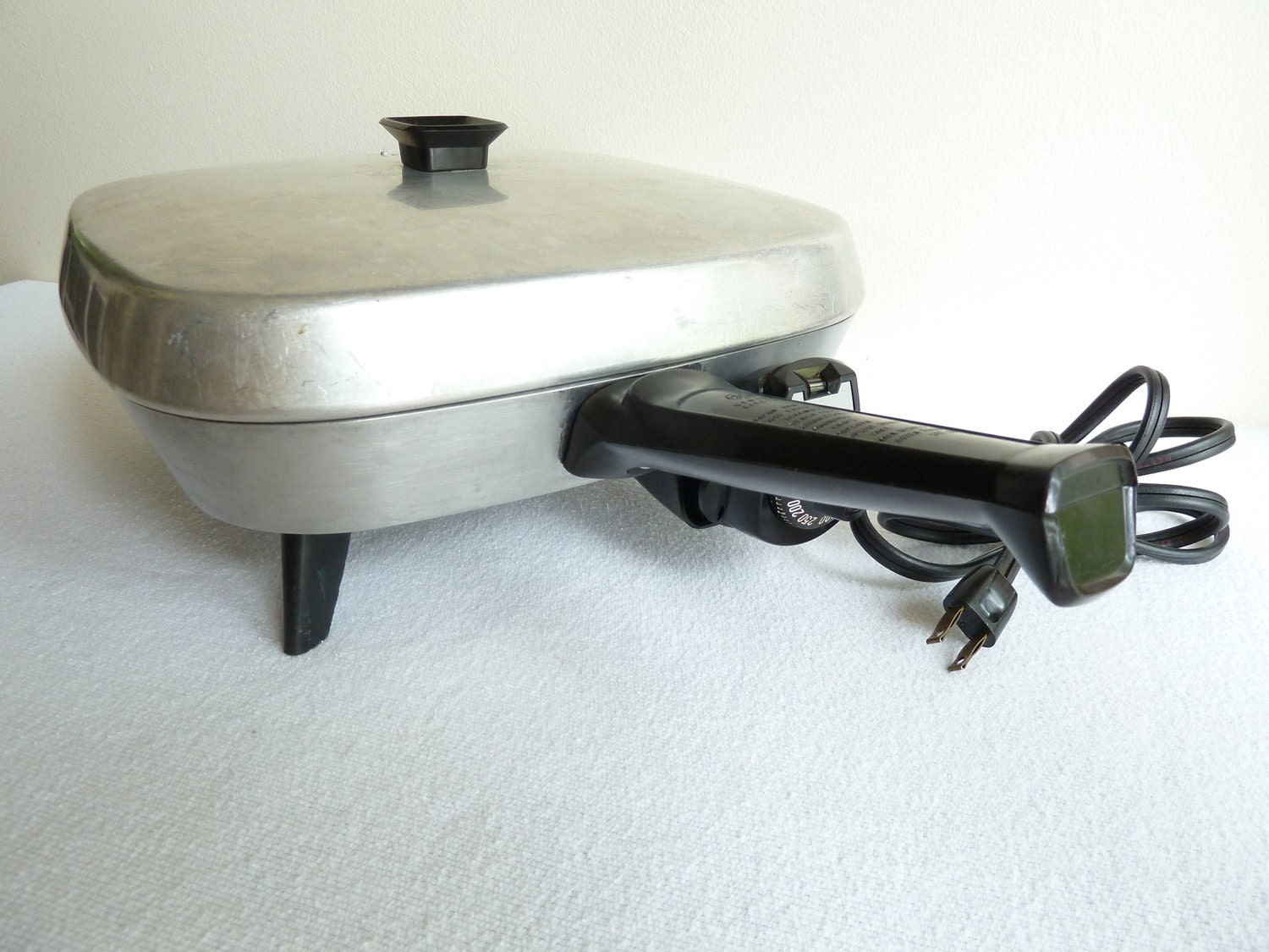 Ge Electric Frying Pan Skillet 1960s
