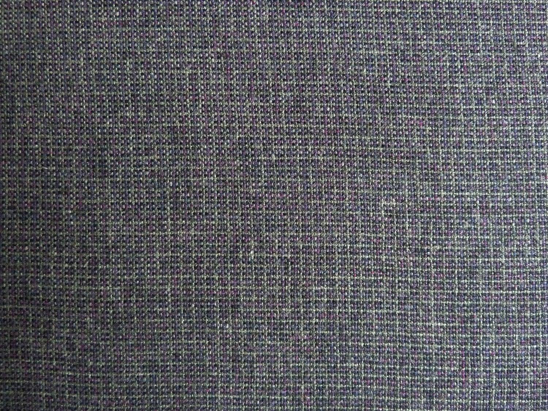 Gray Burgundy Black Tweed Wool Fabric