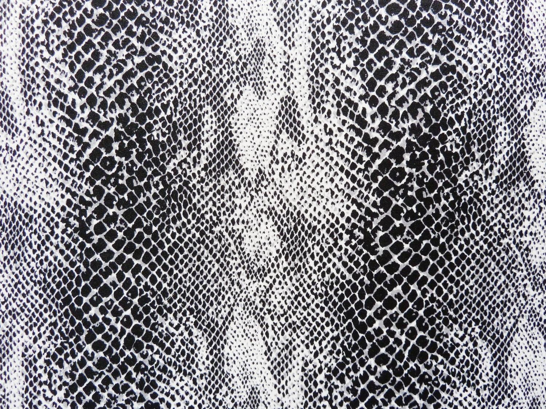 Snake Print Nylon Lycra Fabric by JosephineMarchons on Etsy