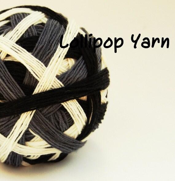 CAT'S MEOW Self-striping sock yarn