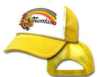 MONTANA RAINBOW Mesh Trucker Hat Cap