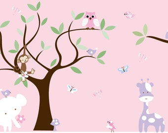 Children's jungle decal - Custom listing - 0319