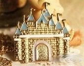Sleeping Beauty Fantasy Disney Dream Castle Pendant Costume Necklace Fairy Tale