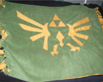 Legend of Zelda Triforce Blanket or throw