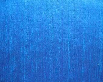 Bright  Dupioni SILK in Iridescent Turquoise