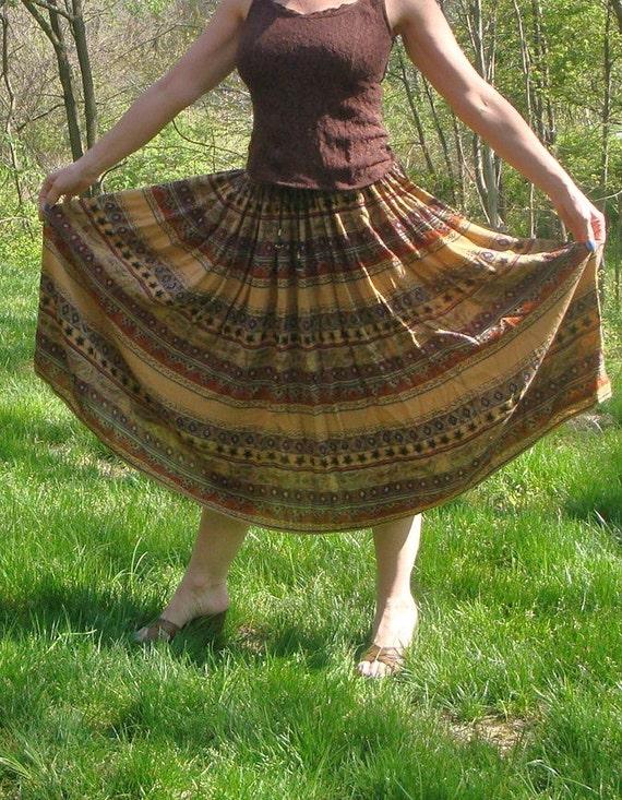 Vintage Tribal Hippie Skirt