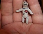 Handmade miniature voodoo doll