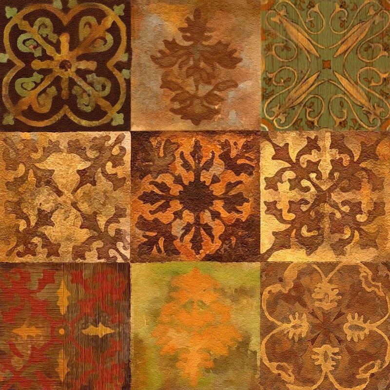 Mediterranean Tiles Kitchen: Mosaic I Vintage Accent Tile Ceramic Kitchen Bath Back Splash