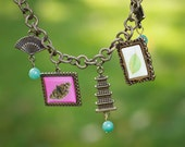 Charming Necklace with Asian Accents