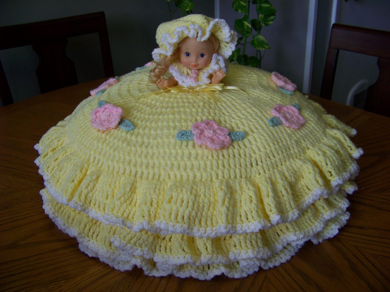 Crochet Pattern American Girl Doll : Large Crochet Bed Doll Pillow