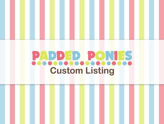 Custom Listing for Christall