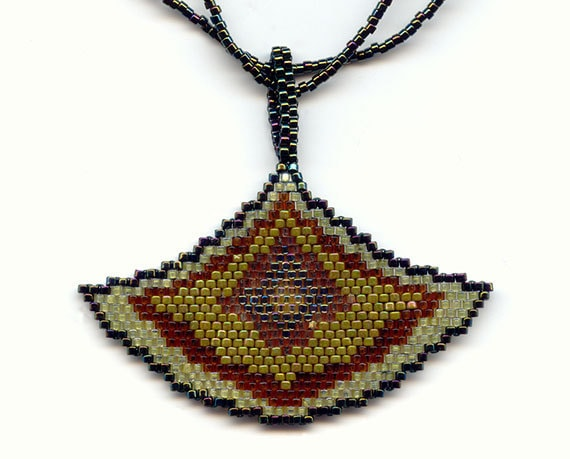 Bead Pattern Only, Necklace Bead Pattern (pdf)