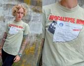 RARE 70's Movie Promo APOCALYPSE NOW  T-Shirt