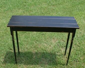 Spindly Legged Hall Table