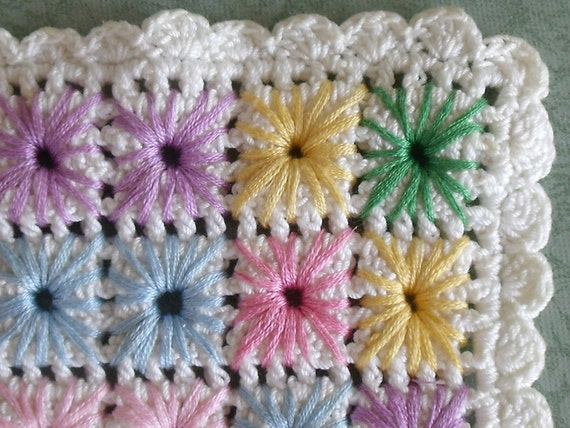 Vintage Hand Crocheted Doily - Embellishments - Altred Art- Sewing Projects