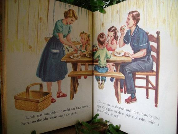 1952 Fun with Decals Little Golden Book - Paper Emphemra