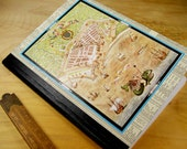 Old World Map Covered Notebook Journal