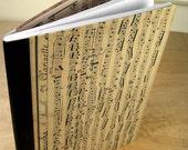 Sheet Music Covered Journal