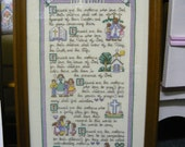 Counted Cross Stitch Beatudes for Mothers