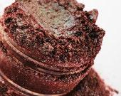 SMOKIN Red Eye shadow Brown Shimmer Sparkle Vegan Mineral Makeup eyeliner 5g Sifter Jar eyeshadow glitter Natural Eyeliner Metallic