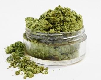 Jaded Mineral Malkeup Green Jaded  Eye Shadow 10g Sifter Jar Eyeshadow