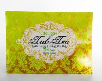 Tub Tea Citrus Bath Organic Bath Soak Citrus