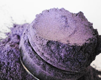 Deviant  Mineral Makeup Eye Shadow  10g Sifter Jar Purple Eyeshadow Smokey eyes