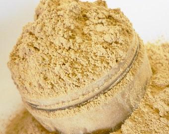 Foundation Mineral Makeup  Asian Skintone Honey Beige  Vegan Natural Ingredients Large 30g Sifter Jar  Make Up