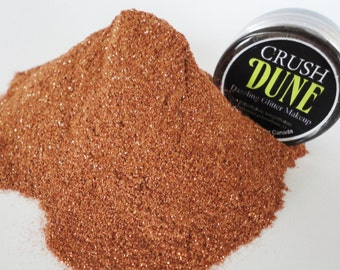 Dune Makeup Glitter EyeShadow  5g Jar Copper Brown  Metallic