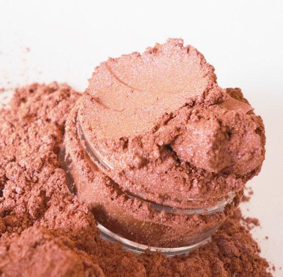 Pretty Please Mineral Makeup EyeShadow  5g Sifter Jar Dusty Pink Eye Shadow Petite Size
