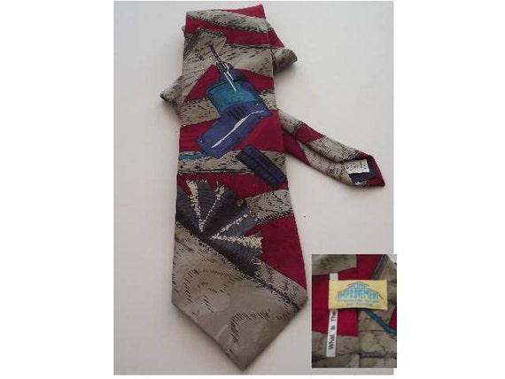 Vintage Men's Tie Necktie Tool Man Home Improvement More Power