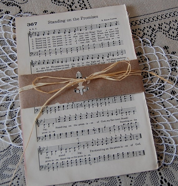 vintage hymnal sheet music bundle 20 pages - your choice