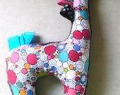 Taggie style Plush Lovie Giraffe