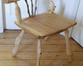 Rustic stick chair - greenwood cherry, ash, sweet chestnut, oak, hazel