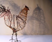 Wire Chicken Sculpture - SlackGirl
