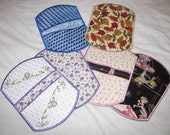 ITH Pot Holders - Done In One Hooping - Great for Craft Fairs and Gifts for Friends and Family