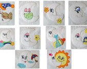My Little Moon Machine Applique Embroidery Designs - Full Pack - 10 Design - 5x7