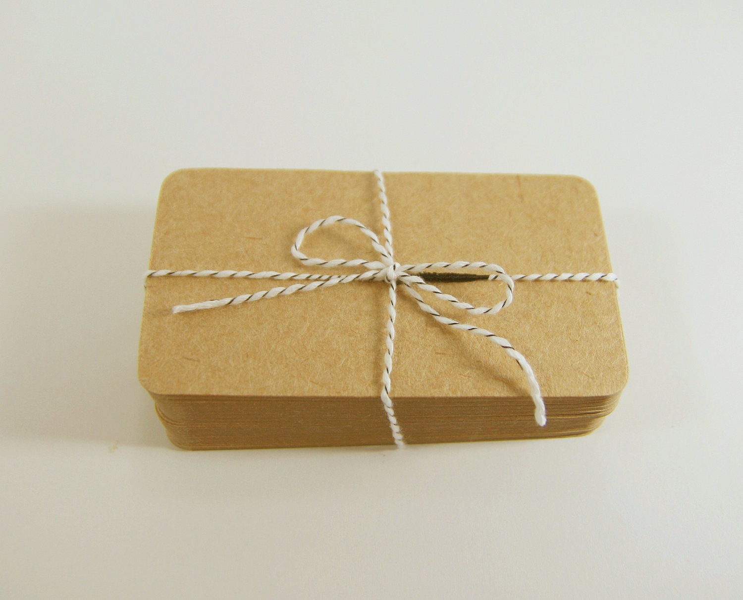 Kraft Paper Business Cards 60 Blank DIY