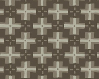 David Butler - Parson Gray - Curious Nature - quilting weight - Trade Blanket in Smoke