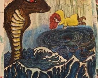 Rain girl and Cobra Whirl pool Waves