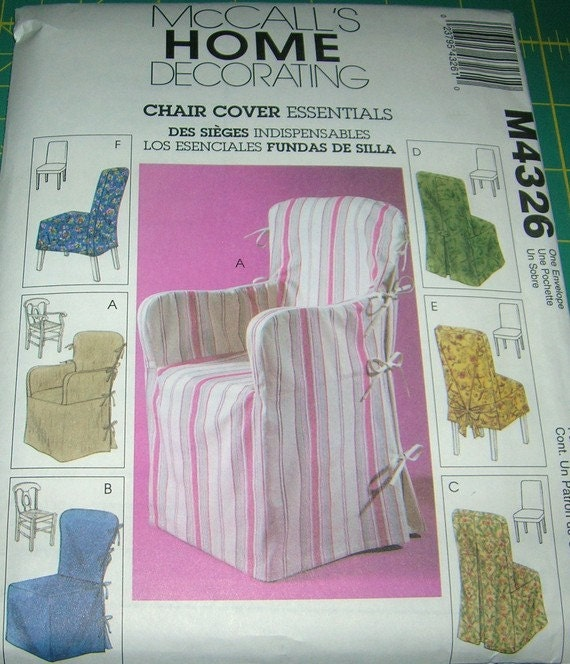 Mccall 39 S 4326 Sewing Pattern Home Decorating By Sewingdesigns