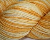 Spun Gold: Superwash Merino and Silk Fingering