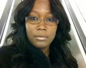 Perm Straight Brazilian Remy Wig with no leave out center part