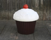 Items Similar To Ceramic Cupcake Container 1976 E S