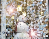 Snowflake PATTERNS, Set No. 1 . . . Winter Wonderland Paper Snowflakes for Weddings, Special Events, Home Decor Ornament Decorations